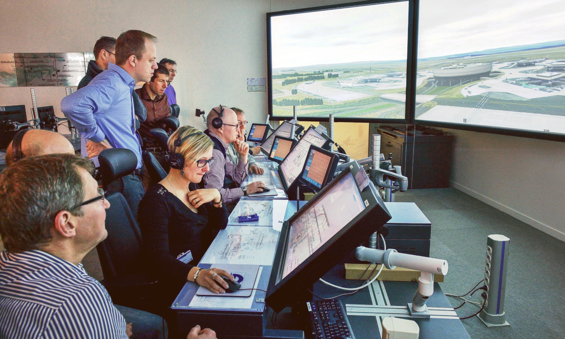 We are the air traffic controllers of the Maastricht Upper Area Control Centre